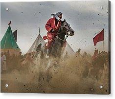 The Horseback Rider 2 Acrylic Print