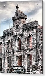 The Hospital Acrylic Print by JC Findley