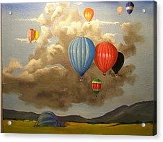The Hot Air Balloon Acrylic Print