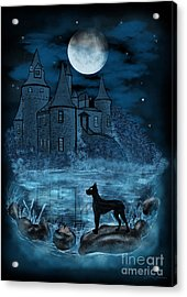 The Hound Of The Baskervilles Acrylic Print