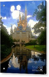The House Of Cinderella Acrylic Print by David Lee Thompson