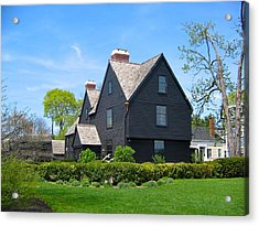 The House Of The Seven Gables Acrylic Print