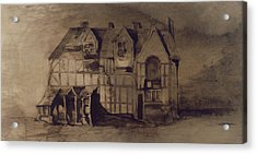 The House Of William Shakespeare Acrylic Print by Victor Hugo