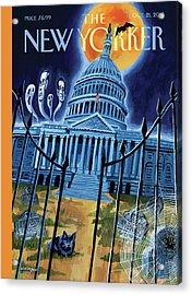 The House Republicans Haunt The Captiol Building Acrylic Print