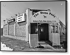The House That Bruce Built II - The Stone Pony Acrylic Print by Lee Dos Santos
