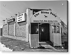 The House That Bruce Built - The Stone Pony Acrylic Print by Lee Dos Santos