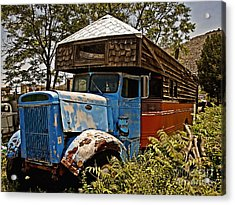 The House That Peterbilt Acrylic Print