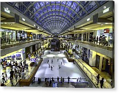 The Houston Galleria Acrylic Print