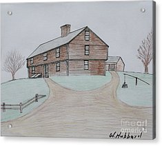 The Hubbard Garrison Acrylic Print