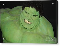 The Hulk Acrylic Print by John Telfer