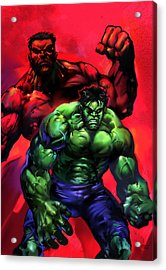 The Hulks Acrylic Print by Ashraf Ghori