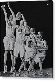 The Human Torch Acrylic Print