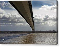 The Humber Bridge Acrylic Print by Andrew Barke