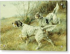 The Hunt Acrylic Print by Edmund Henry Osthaus