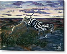 The Hunt Acrylic Print