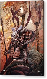 The Hunter And His Henchman  Acrylic Print by Ethan Harris