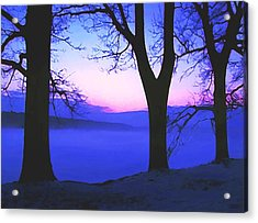 Acrylic Print featuring the painting The Hush At First Light by Sophia Schmierer