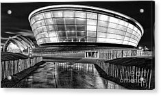 The Hydro Mono Acrylic Print by John Farnan
