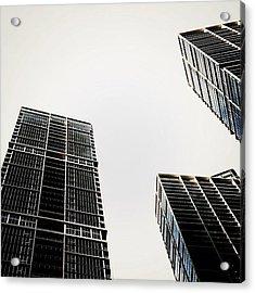 The Icon Bldg. Complex - Miami Acrylic Print by Joel Lopez