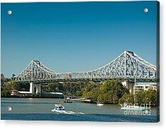 The Icon Of Brisbane - Story Bridge Acrylic Print