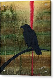 The Impossibility Of Crows Acrylic Print by Jim Stark