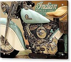 The Indian Acrylic Print