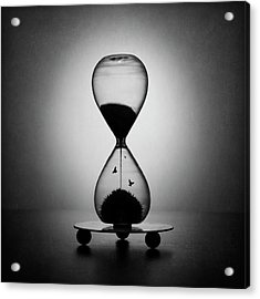 The Inexorable Passage Of Time Acrylic Print by Victoria Ivanova