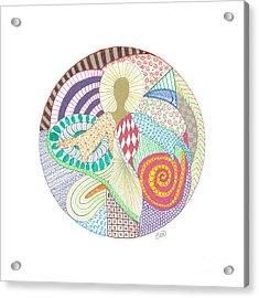 The Inner Goddess Acrylic Print