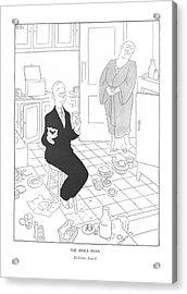 The Inner Man  Bedtime Snack Acrylic Print