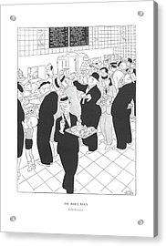 The Inner Man  Self-service Acrylic Print by Gluyas Williams