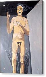 Acrylic Print featuring the painting The Insanity And Its Madness Enajenacion Y Su Locura by Lazaro Hurtado