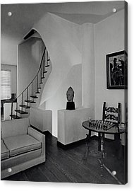 The Interior Of A Manhattan House Acrylic Print by Tom Leonard