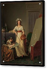 The Interior Of An Atelier Of A Woman Acrylic Print