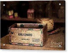 The Invincible King Edward Cigar Acrylic Print