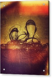 The Invited They Come Acrylic Print by Guillermo De Llera