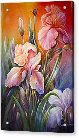 The Iris Of  Spring  Acrylic Print