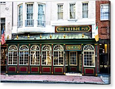 The Irish Pub - Philadelphia Acrylic Print by Bill Cannon