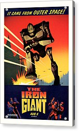 The Iron Giant 1999 Acrylic Print