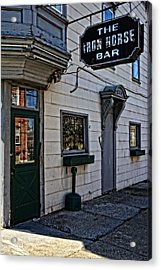 The Iron Horse Bar Acrylic Print by Mike Martin