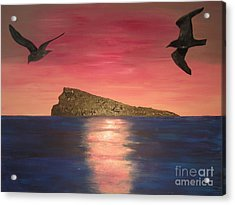 The Island Acrylic Print