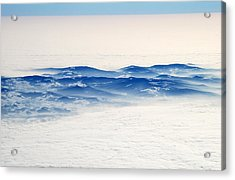 The Sea Of Clouds Acrylic Print