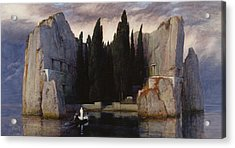 The Isle Of The Dead Acrylic Print by Arnold Bocklin