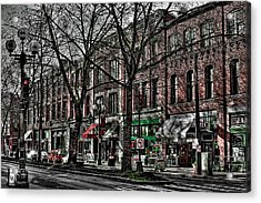 The J And M Hotel In Pioneer Square - Seattle Washington Acrylic Print by David Patterson