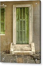 The Jackson House Door Acrylic Print