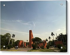 The Jantar Mantar Complex Acrylic Print by Rajiv Chopra