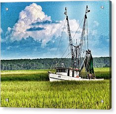 The Jc Coming Home Acrylic Print