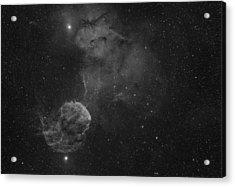 The Jellyfish Nebula Acrylic Print by Brian Peterson