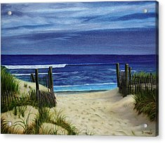 The Jersey Shore Acrylic Print
