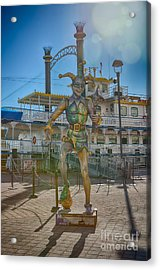 The Jester Acrylic Print by Kay Pickens