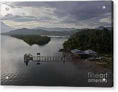 Acrylic Print featuring the photograph The Jetty  by Gary Bridger